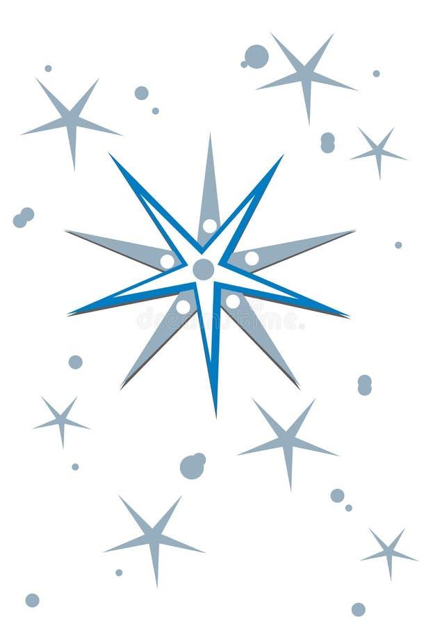 Download De achtergrond van de ster stock illustratie. Illustratie bestaande uit hemel - 10775610