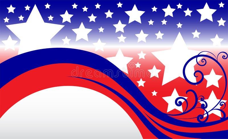 Download De Achtergrond van de ster vector illustratie. Illustratie bestaande uit patriotic - 29507336