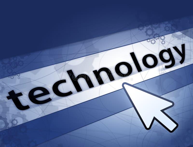 De achtergrond van de technologie royalty-vrije stock afbeelding