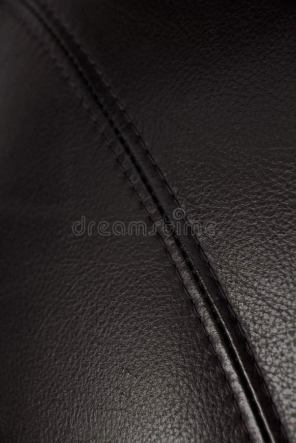 De Achtergrond van de Textuur van het leer stock foto