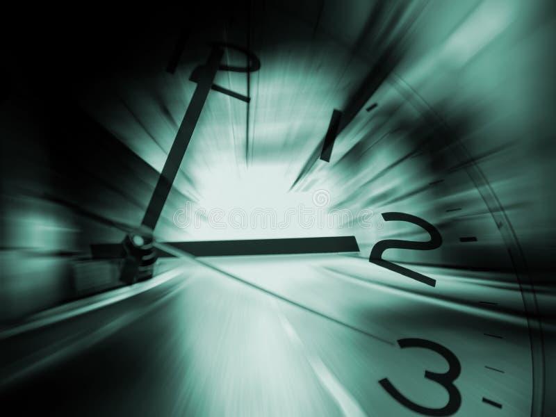 De achtergrond van de tijdreis stock afbeelding