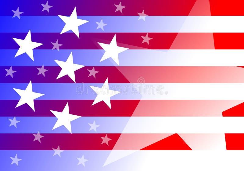 De achtergrond van de V.S. stock afbeelding