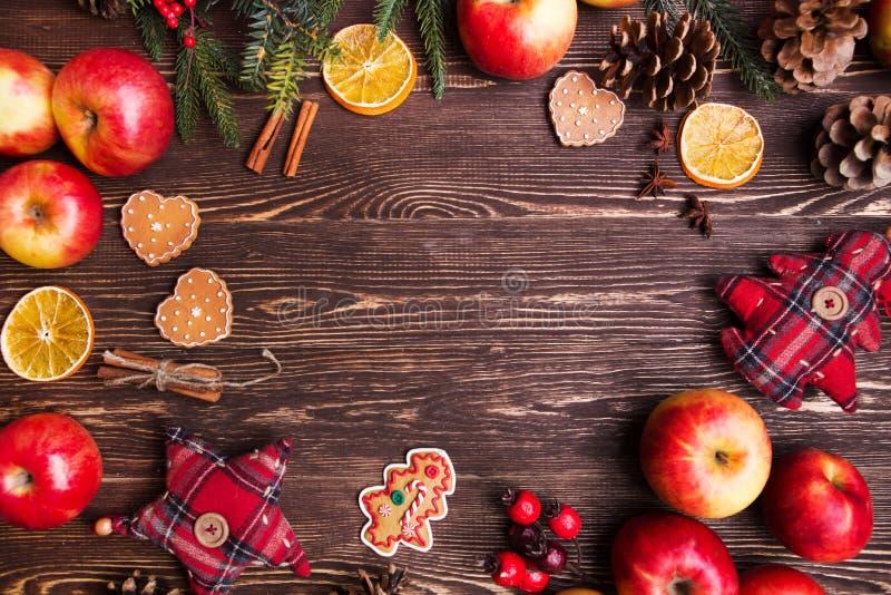 De Achtergrond van de Vakantie van Kerstmis stock foto