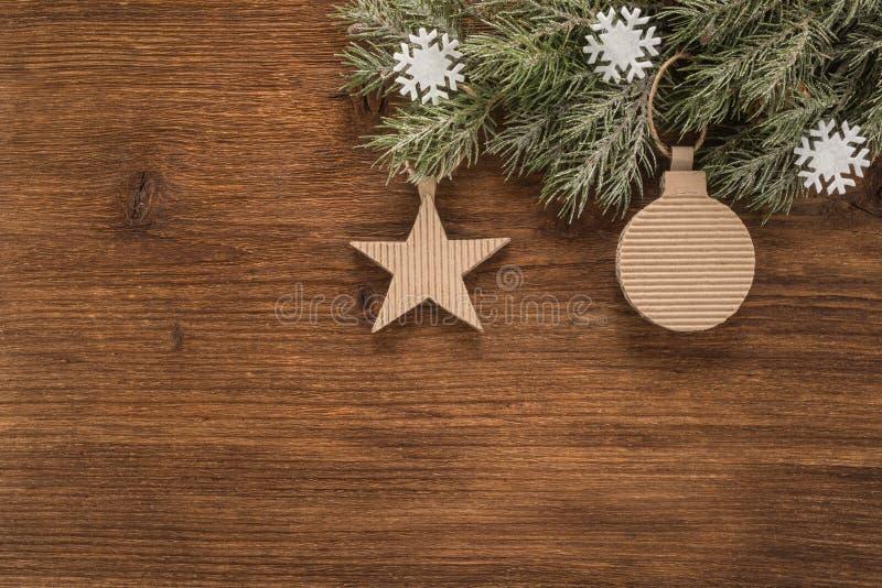 De Achtergrond van de Vakantie van Kerstmis stock foto's