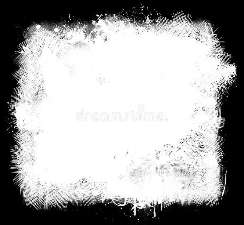 De Achtergrond van de Verf van Grunge vector illustratie
