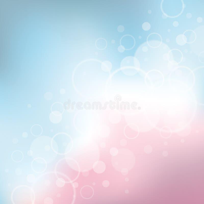 De Achtergrond van de verjaardag vector illustratie