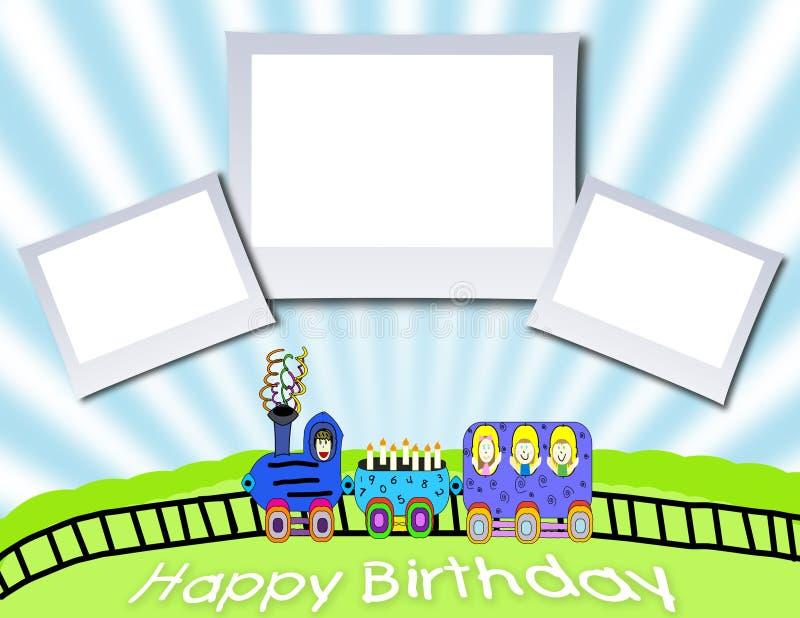 De Achtergrond van de verjaardag stock illustratie