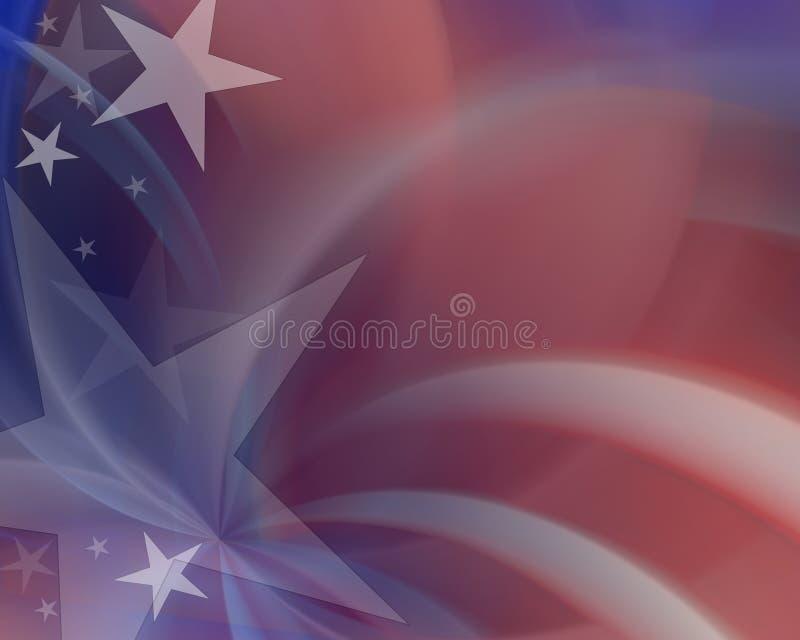 De Achtergrond van de Verkiezing van de V.S. stock illustratie