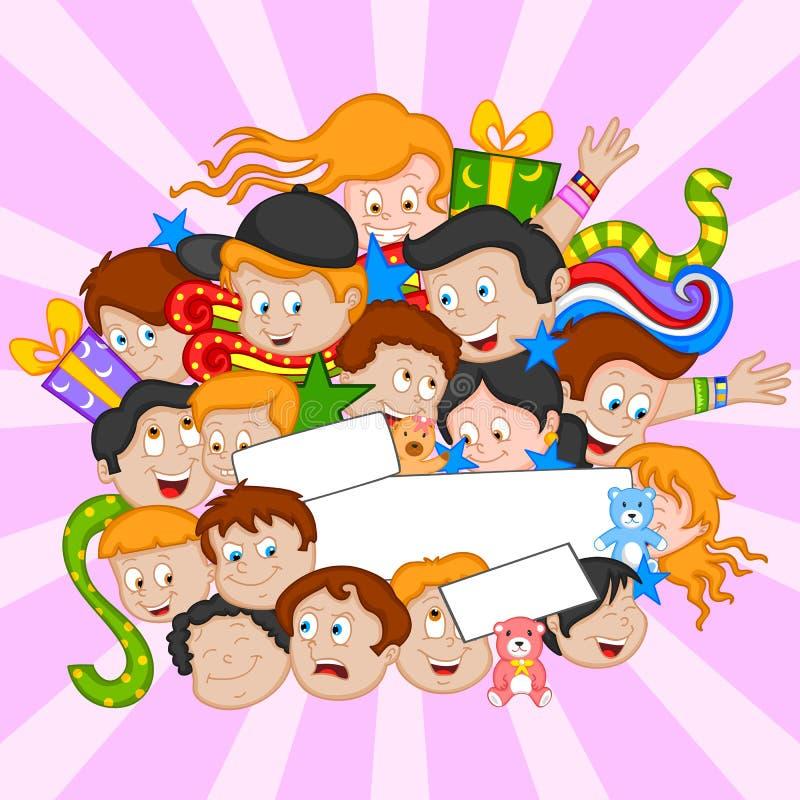 De achtergrond van de vriendschapsdag stock illustratie