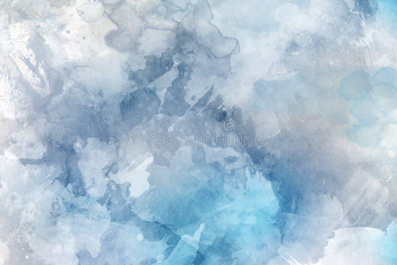 De achtergrond van de waterverf stock foto