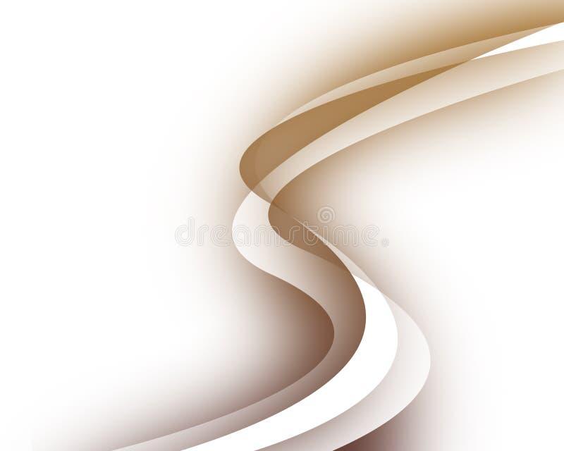 De achtergrond van de werveling vector illustratie