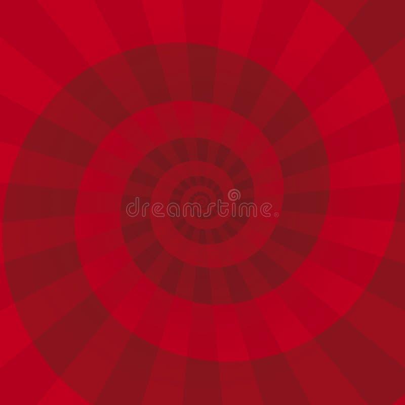De achtergrond van de werveling (vector) vector illustratie