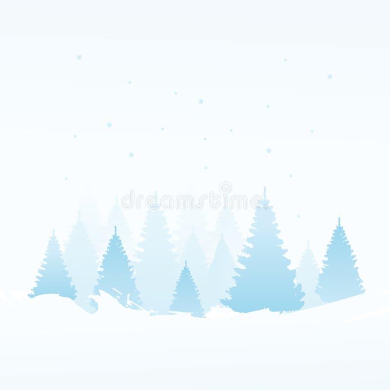 De achtergrond van de winter