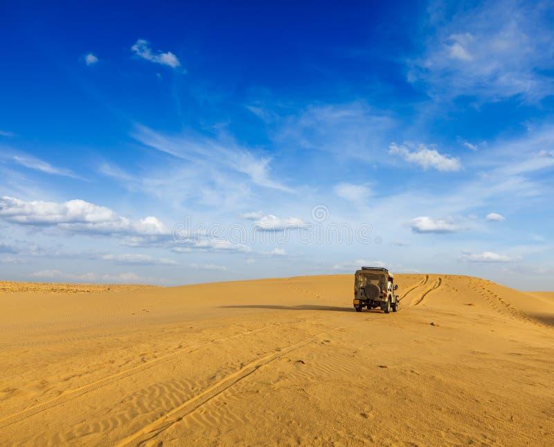 De achtergrond van de woestijnsafari stock fotografie