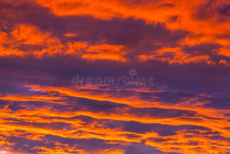 De achtergrond van de zonsondergang royalty-vrije stock fotografie