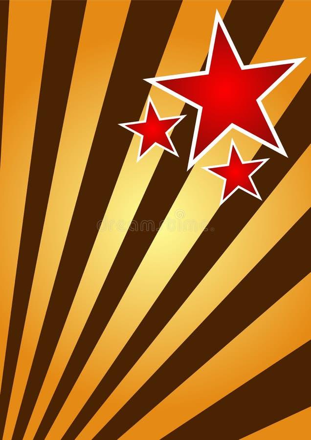 Download De Achtergrond Van De Zonsopgang Vector Illustratie - Illustratie bestaande uit vorm, ster: 10776829