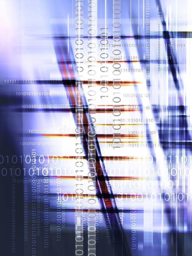 De Achtergrond van digitale Gegevens stock illustratie