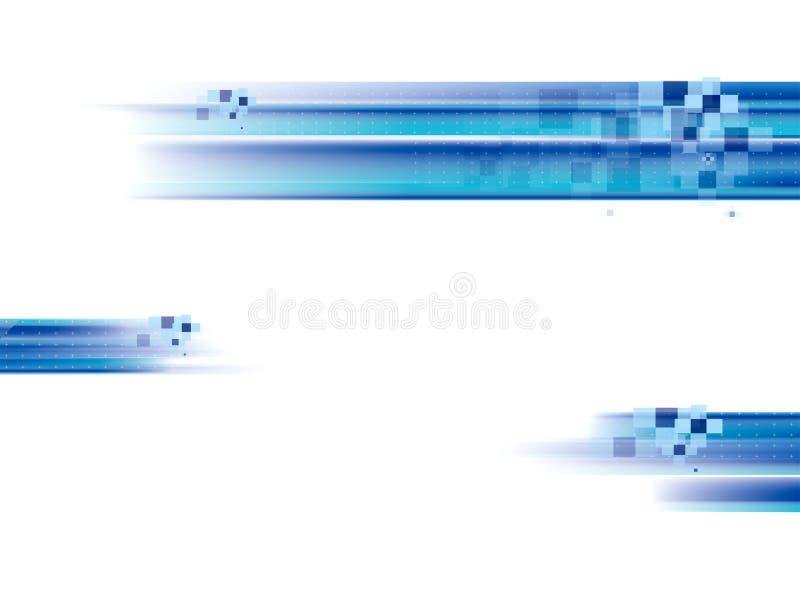 De achtergrond van Dinamic stock illustratie