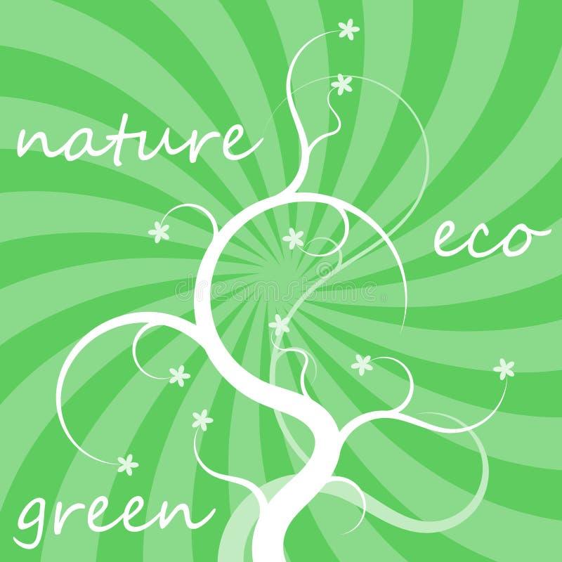 De achtergrond van Eco vector illustratie