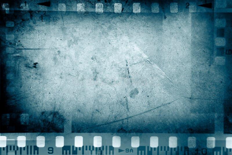 De achtergrond van filmkaders stock foto