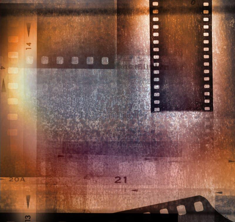 De achtergrond van filmstroken royalty-vrije stock foto's