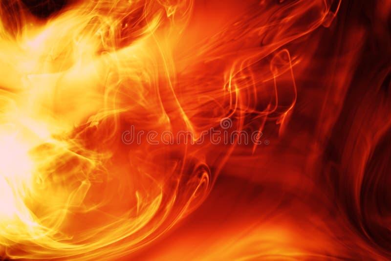 De achtergrond van Firey stock illustratie