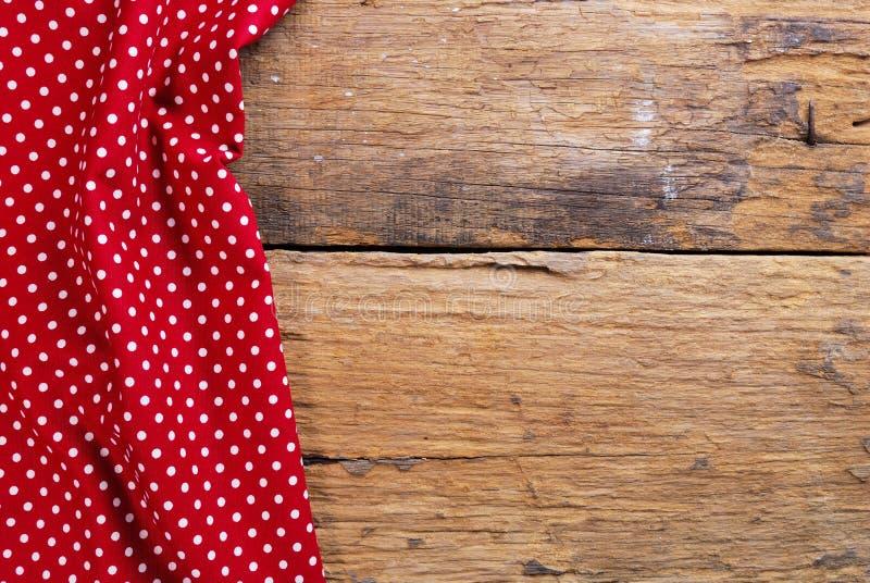 De achtergrond van geruit servet wordt gemaakt dat royalty-vrije stock afbeelding