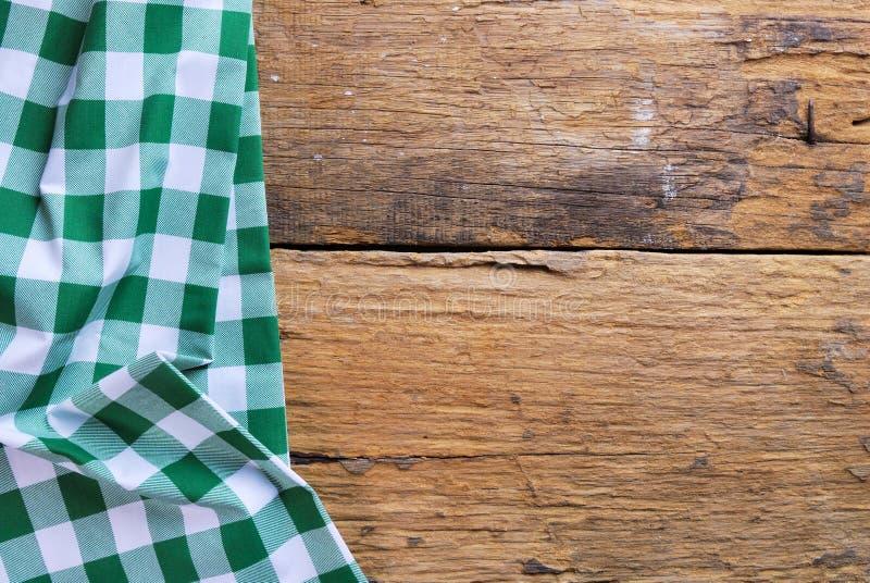 De achtergrond van geruit servet wordt gemaakt dat stock foto's