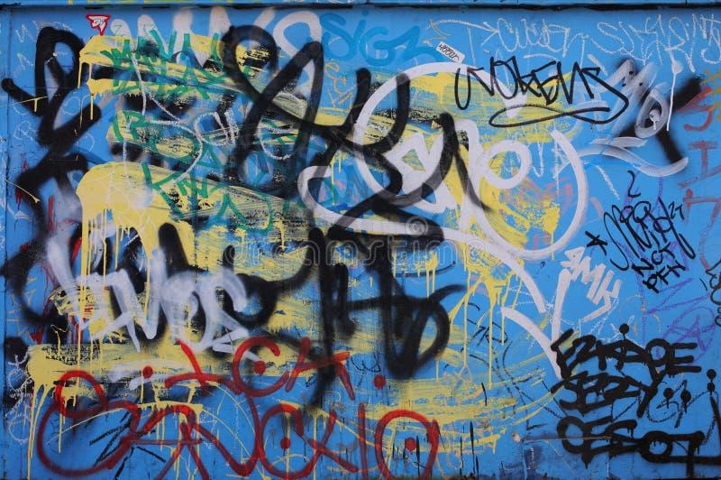 De achtergrond van Graffiti royalty-vrije stock fotografie