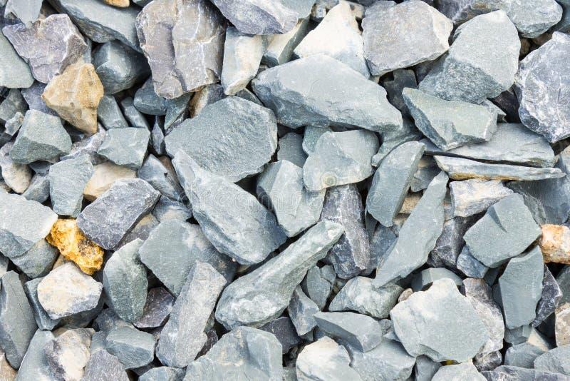 De Achtergrond van Grey Stone Texture of van de Rotstextuur voor Ontwerp sluit U royalty-vrije stock afbeeldingen