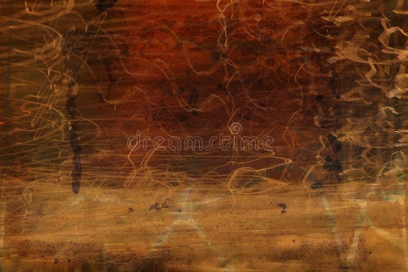 De achtergrond van Grunge royalty-vrije illustratie