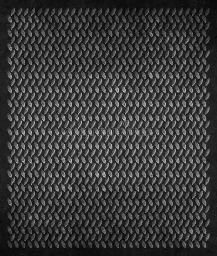 De Achtergrond van Grunge van het metaal stock foto