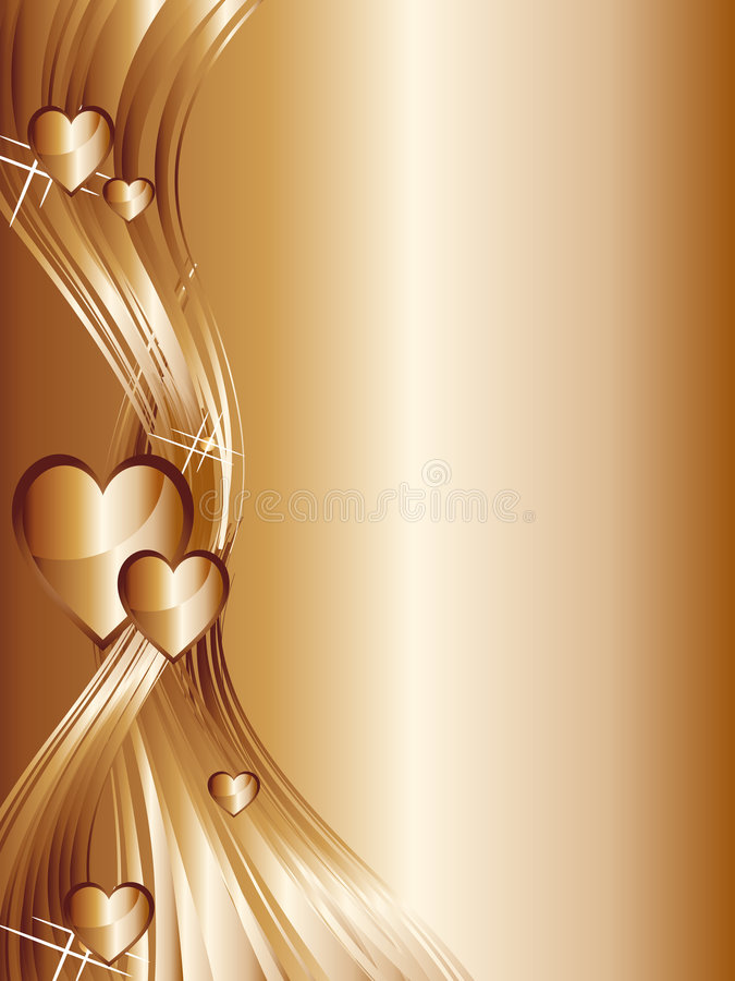 De achtergrond van harten royalty-vrije illustratie