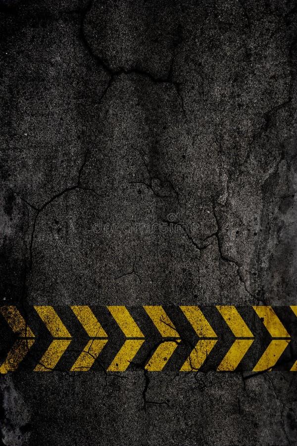De achtergrond van het asfalt royalty-vrije illustratie