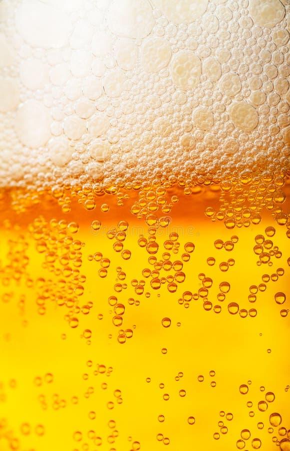 De achtergrond van het bier royalty-vrije stock afbeelding