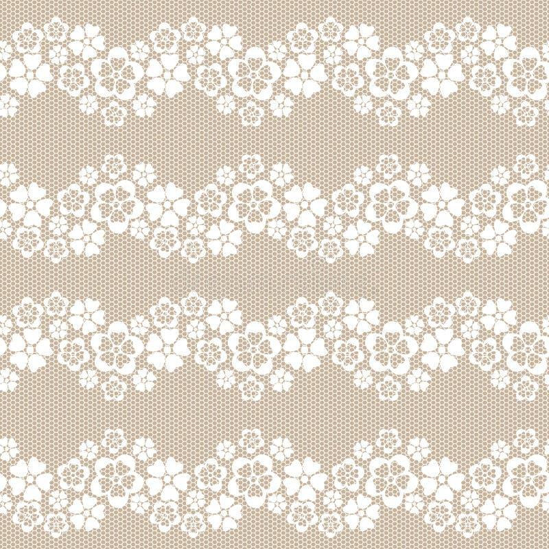 De achtergrond van het bloemkant. vector illustratie