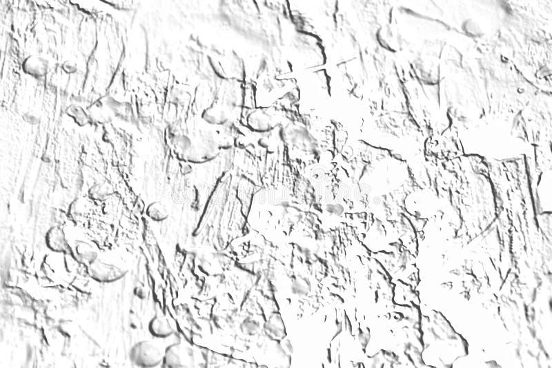 De achtergrond van het bouwcement in witte grijze tinten vector illustratie
