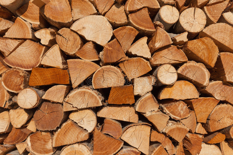 De Achtergrond van het brandhout royalty-vrije stock foto