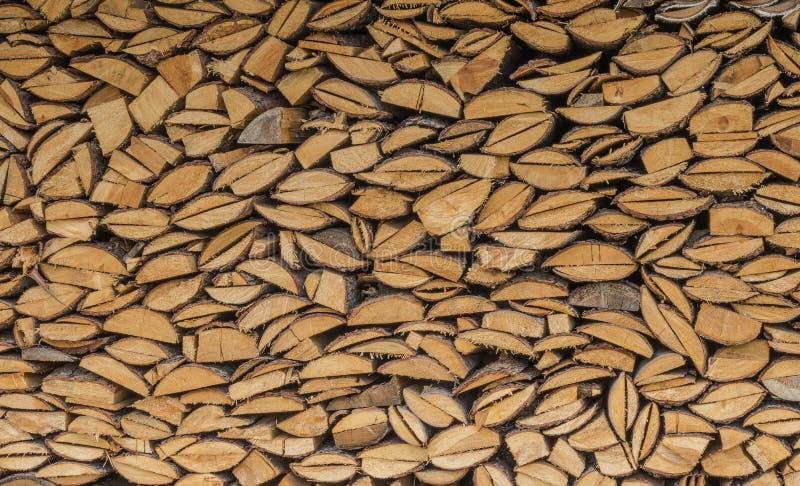 De Achtergrond van het brandhout royalty-vrije stock fotografie