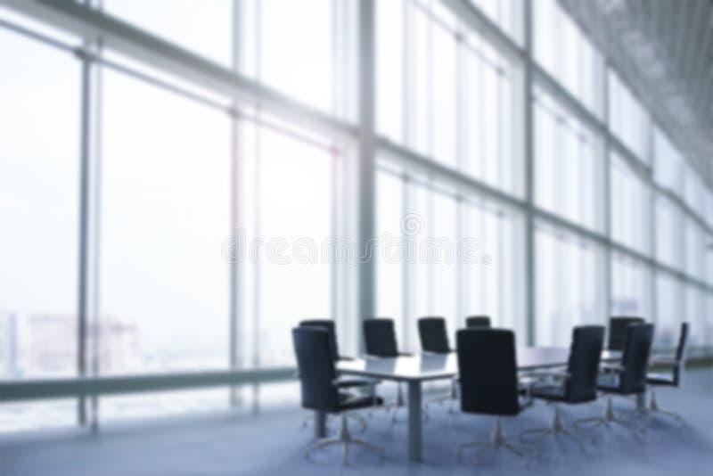 De achtergrond van het bureauonduidelijke beeld stock afbeelding