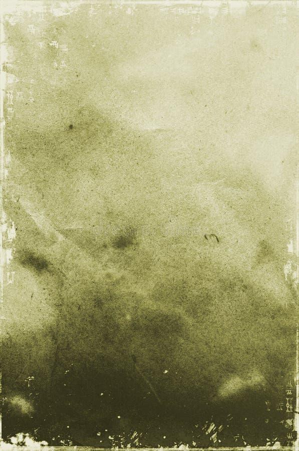 De achtergrond van het document stock afbeelding