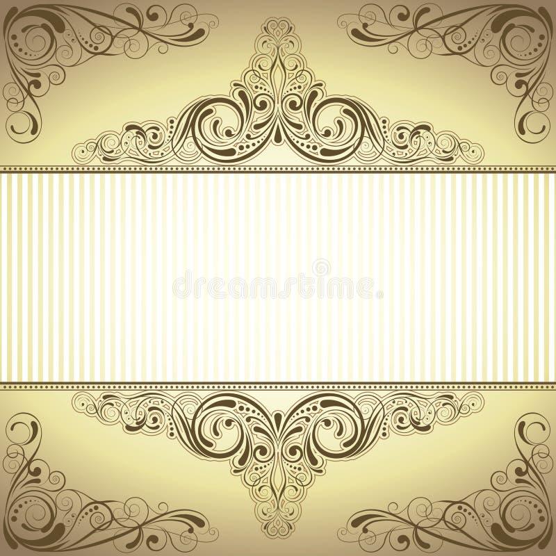 De achtergrond van het frame vector illustratie