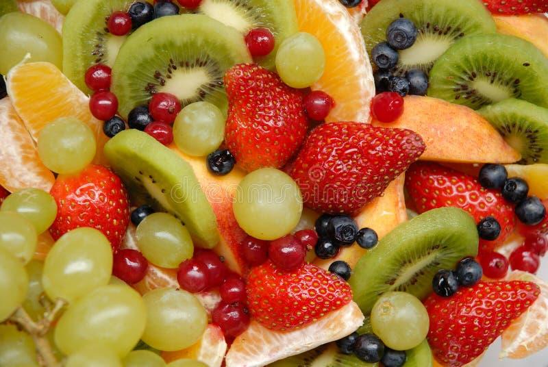 De achtergrond van het fruit stock afbeelding