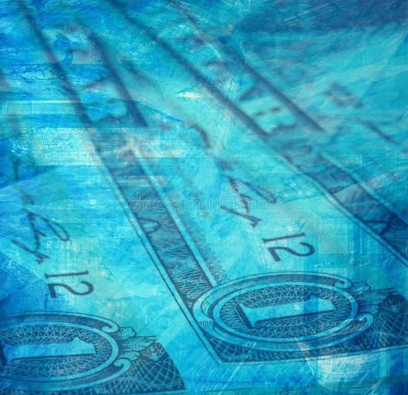 De Achtergrond van het geld vector illustratie