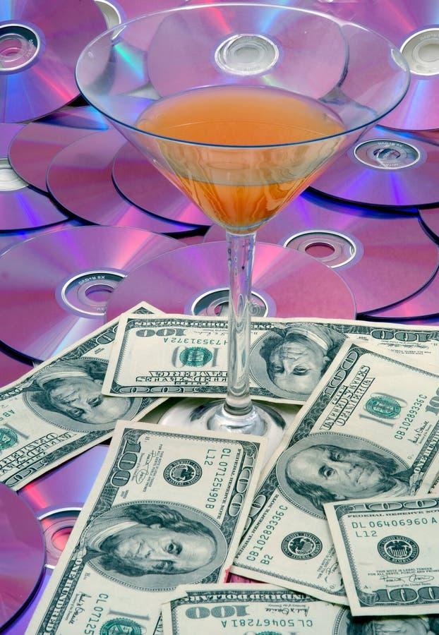 De Achtergrond Van Het Geld Van IT Stock Afbeeldingen