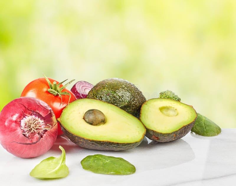 De achtergrond van het groentenvoedsel stock fotografie