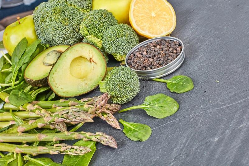 De achtergrond van het groentenvoedsel royalty-vrije stock afbeelding