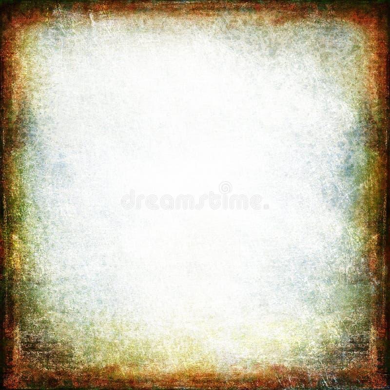 De achtergrond van het Grungekader vector illustratie
