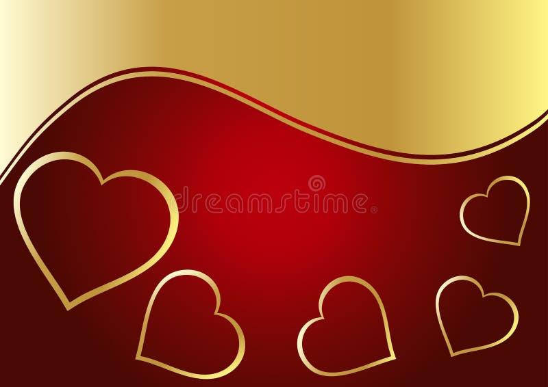 Download De Achtergrond Van Het Hart Vector Illustratie - Illustratie bestaande uit schoonheid, achtergrond: 10776808