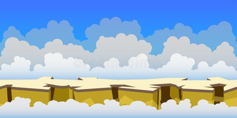 De achtergrond van het hemelspel royalty-vrije stock fotografie